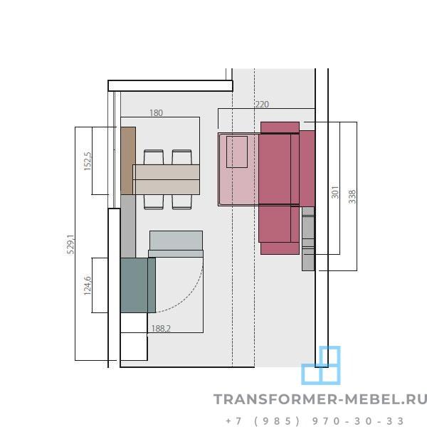 кухня трансформер 3