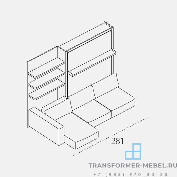 шкаф кровать диван 8