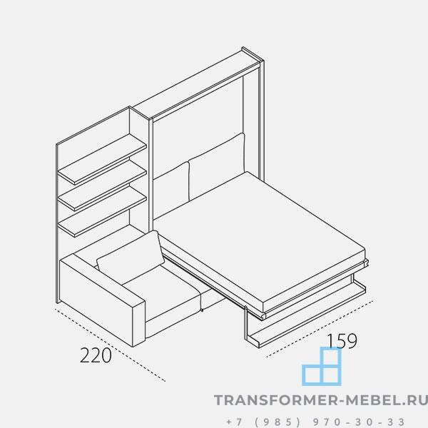 шкаф кровать диван 9