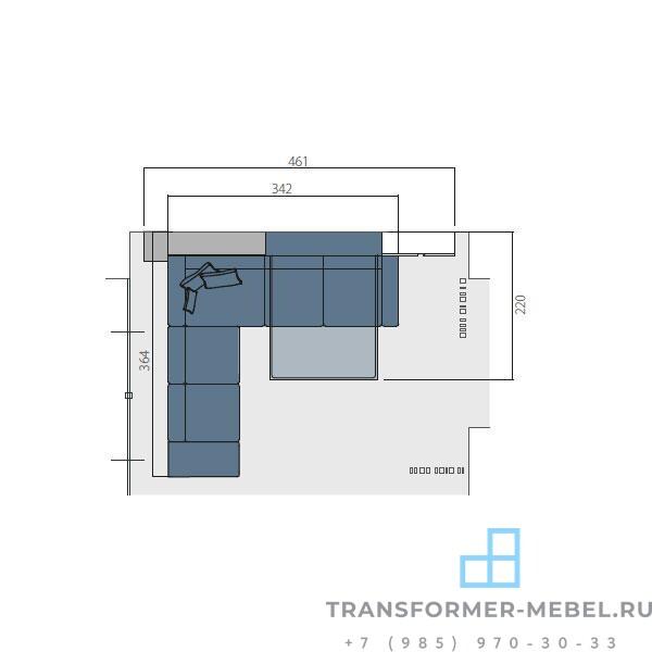 кровать трансформер 3 2