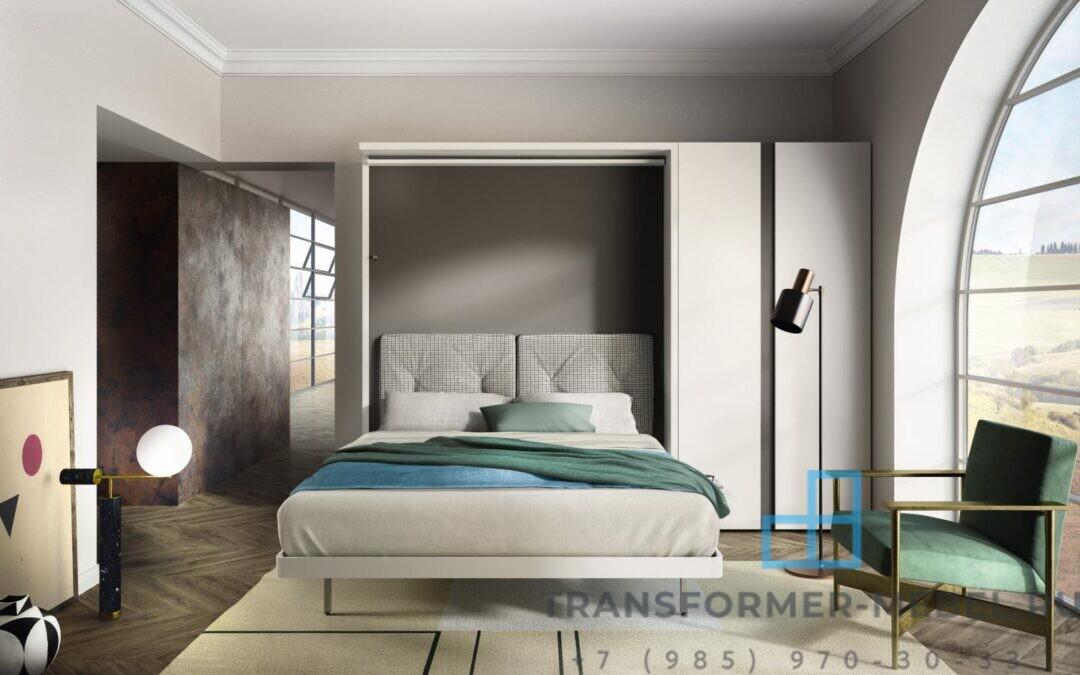 кровать трансформер двуспальная 1