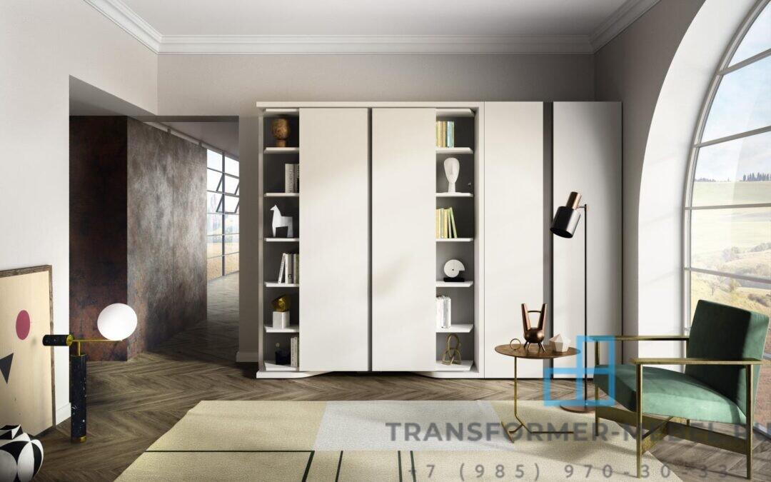Кровать трансформер с библиотекой — Италия