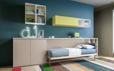 Детская кровать шкаф