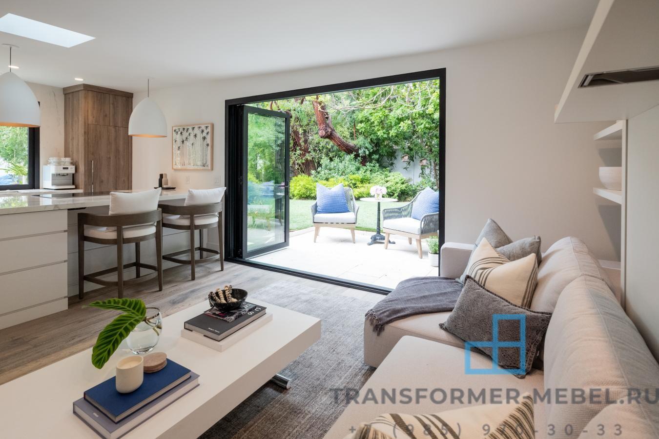 мебель трансформер с диваном 3