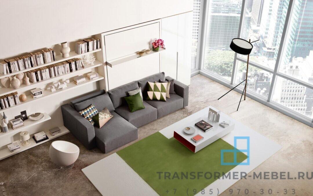 мебель трансформер диван кровать шкаф заставка 3