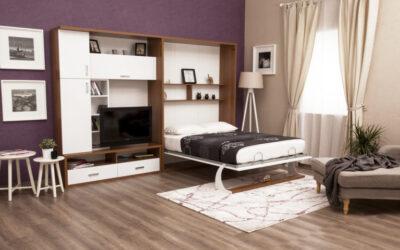 Шкаф кровать с телевизором — Турция