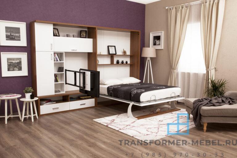 Шкаф кровать с телевизором