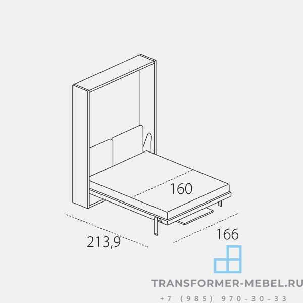 стол кровать трансформер 3 в 1-3