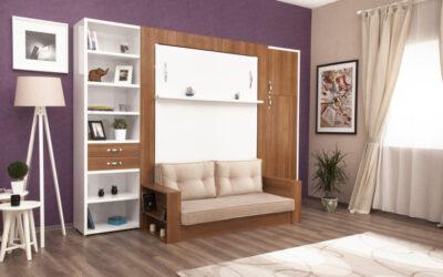 Шкаф кровать с диваном — Турция