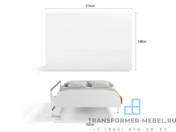 шкаф кровать горизонтальная трансформер 3