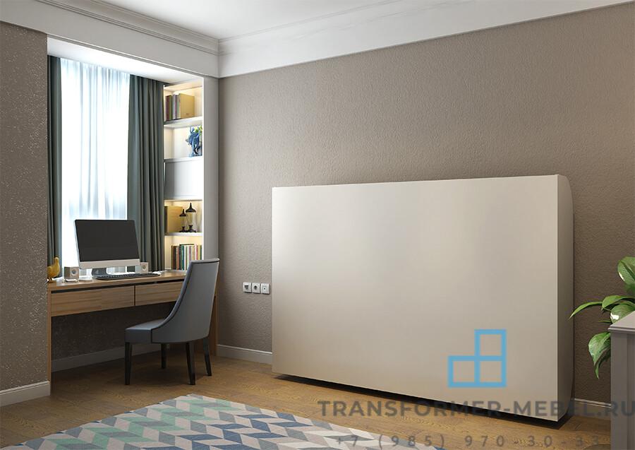 Шкаф кровать горизонтальная двуспальная — Турция
