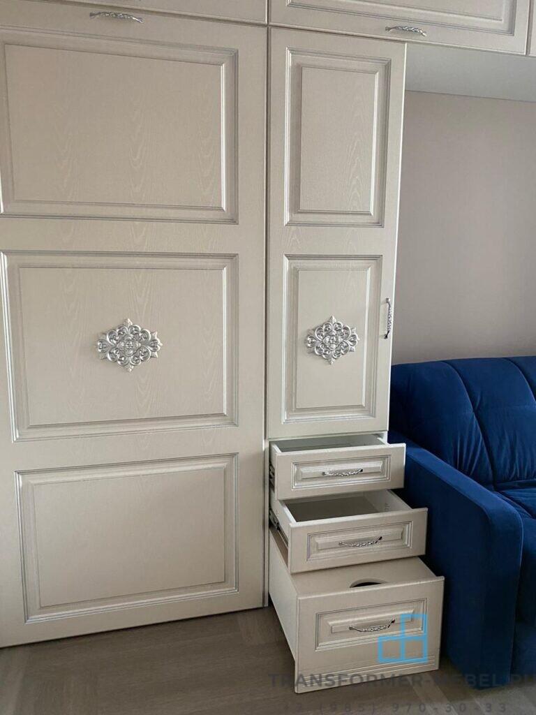 откидная кровать в стиле ар деко - 4