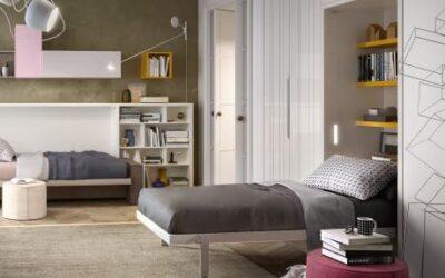 Вертикальная односпальная/полуторная кровать трансформер — Италия