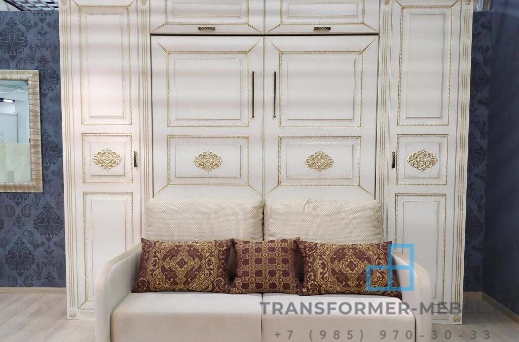Шкаф кровать с диваном с стиле Ар деко — Россия