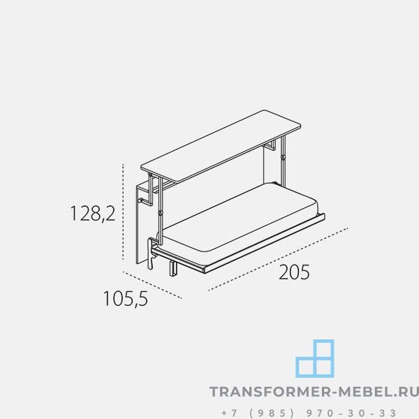 стол кровать трансформер - 8